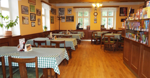 Interiér restaurace Kopičák