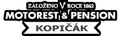 Logo motorestu Kopičák